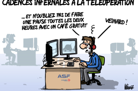 CADENCES INFERNALES A LA TELEOPERATION