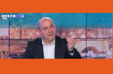 Laurent BERGER dénonce le chômage partiel chez Vinci Autoroutes. Extrait BFM TV
